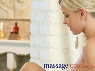 Massageräume Seidige Haut Auf Haut Junge Lesbische Höhepunkt