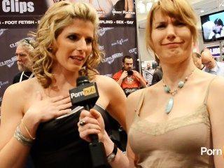 Pornhubtv Cory Chase Und Nebligen Stein Interviews Bei 2013 Avn Awards