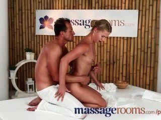 Massageräume Sexy Enge Teen Blondinen Nass Mit Hardcore Fucking