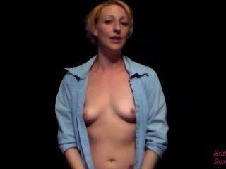 Sexy Stewardess Gibt Ihnen Die Behandlung Mit Blasen Und Cumshot Auf Titten Vip