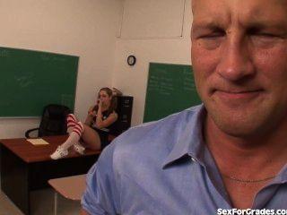 Leinwand Cheerleader Fickt Ihr Lehrer