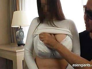 Asian Riesigen Titten