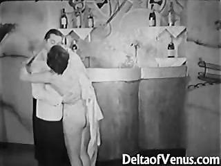 Antike Porno 1930er Jahre - Ffm Dreier - Fkk-bar