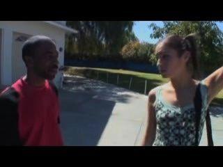 Rassistisch Weißes Mädchen Fickt Bbc