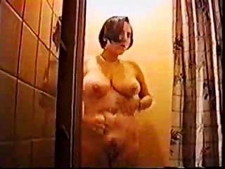Mutter Nimmt Eine Dusche
