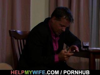 Sexy Frau Reitet Zufällige Hahn