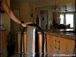 Milf Colette Küche Sextape