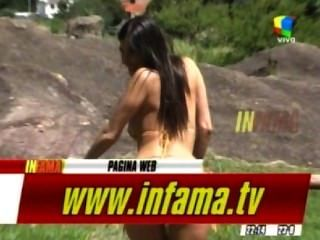 Andrea Rincon Erstaunliche Titten In Topless