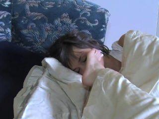 3 Mädchen Füße In Gesichter Schlafen