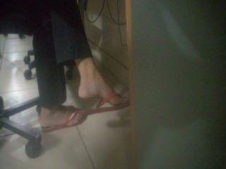 Offen Fuß In Der Schule - Faceshot - Füße 38