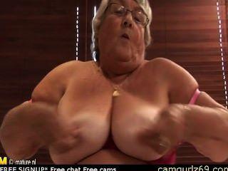 Alte Amateur Oma Masturbieren Auf Cam Webcam Paar Live Camsex