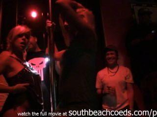 Echte Mädchen Auf Einer Stange Wettbewerb Miami South Beach Home-video-strippen