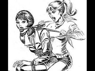 Mädchen Gegen Mädchen Catfight Tribbing Knechtschaft Versohlt Lesben