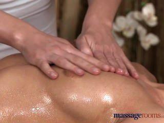 Massageräume Atemberaubend Schöne Lesben Genießen Sinnlich Intensive Orgasmen