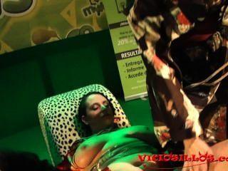 Verrückten Regeln, Iori Y Anraro Shibari Fick-show Auf Der Bühne Von Viciosillos.com