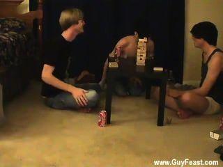 Homosexuell Clip Dies Ist Ein Langwieriger Video Für Sie Voyeur Typen, Die Das Mögen