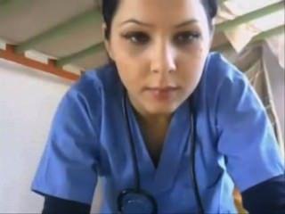 Krankenschwester Blinkt