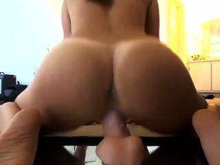 Blase Butt Trifft Dildo