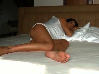 Schlaf Celine Füße