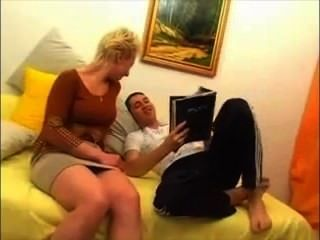 Russische Amateur-video-mutter Und Sohn