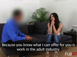 C1446 Lina [gefälschte Mittel] - Sexy Student Wird In Gießen Intervie Hart Gefickt