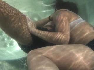 Unterwasser-bad