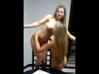 Party Dort In Meinem Haus. Zwei Frauen, Die Eine Tolle Zeit. Brasilien
