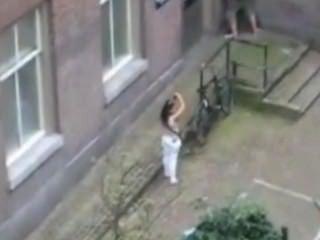 Schamlosen Teen Ficken Hinter Meinem Fenster