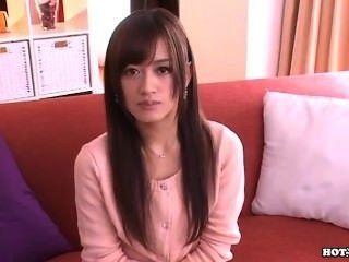 Japanische Mädchen Verdammt Schöne Frau Im Bett Room.avi