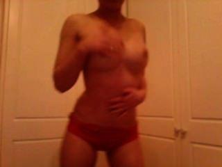 Sexy Tanz Und Striptease Mein Barcelona Fußball-kit Trägt